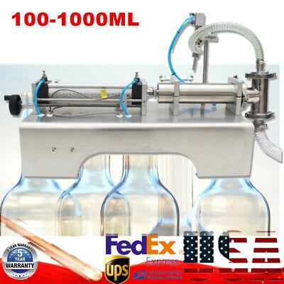 100-1000ml Pneumatic Liquid Bottle Filling Machine Filler F Shampoooilperfume