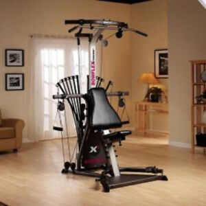 BowFleX ExTreMe 2 gym weights exercise