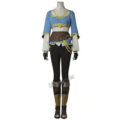 The Legend of Zelda Breath of the Wild Princess Zelda Cosplay Costume Halloween  - Halloween Costumes Princess Zelda