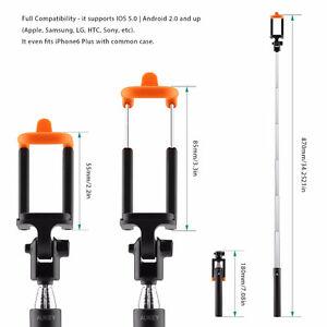 AUKEY Selfie Stick, Bluetooth Wireless Handheld Monopod