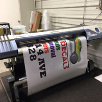Commercial graphic printing