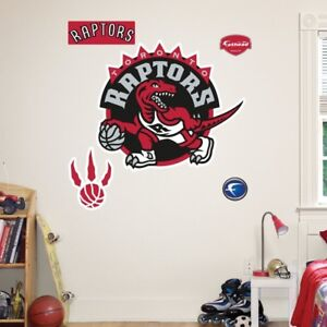 NBA Wall Decal - TORONTO RAPTORS !! NEW IN THE PACKAGE !!