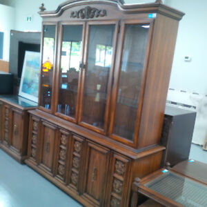 Antique style wooden cabinet for only $200