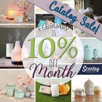 10% OFF MOSTLY EVERYTHING IN SCENTSY'S FALL/WINTER CATALOGUE