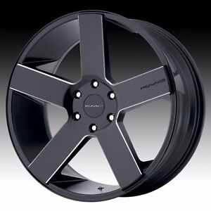 """22"""" KMC 690 Wheels with 305/40R22 Tires"""