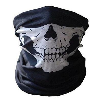 Cod Ghosts Halloween (Skeleton Ghost Skull Face Mask Biker Balaclava Costume Halloween Cosplay)