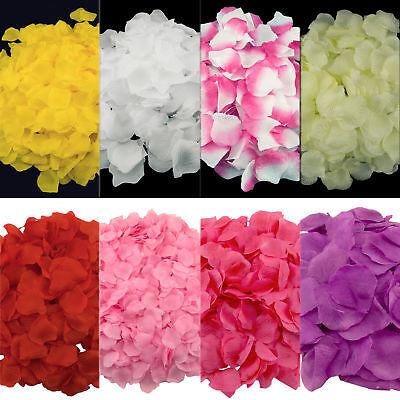 200pcs Artificial Silk Petals Flowers Rose Wedding Flower Girl Basket Decoration (Flower Girl Petals)