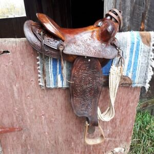 7 Complete Western Saddle Sets - $350 each
