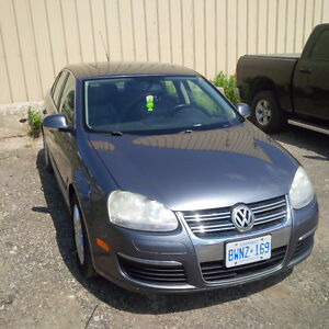 2007 Volkswagen Jetta Leather 2.5 Sedan