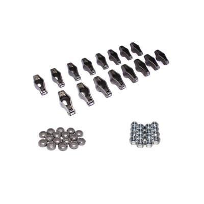 COMP Cams Rocker Arm Kit 1450-16; Magnum 1.7 Chromoly Roller Tip for Ford SBF