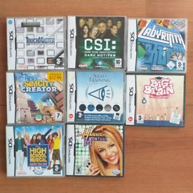 NINTENDO DS Games - £2 each