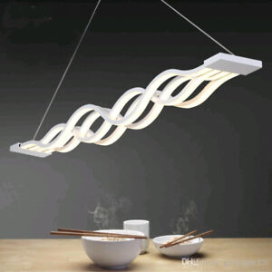 Contemporary LED Wave Pendant – SUPER STYLISH!!