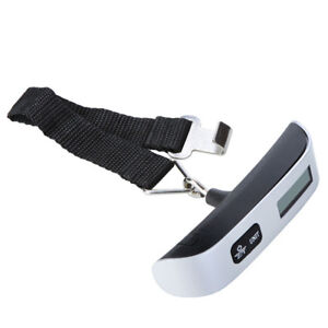 NEW 50kg/110lbs luggage scale including battery