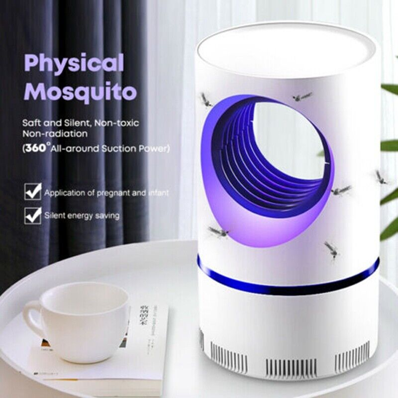 Hot Advanced Mosquito Exterminator – Suction Fan, No Zapper, Child Safe US STOCK