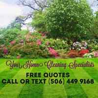Lawn Mowing Services - 506 449 9168