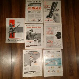 magazine lot with old winchester ads