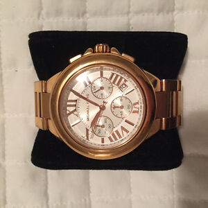 Authentic Rose Gold Michael Kors Watch For Sale