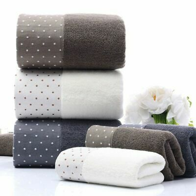 Thick and Plush Cotton Solid Bath Towels Super Soft Extra Ab