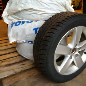 GT radial champiro winter pro tires and rims 205/55 R16