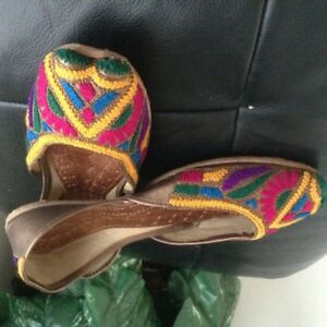 Summer shoes, Khusas, Brand new hand made