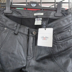 Clearance - Ladies Harley Davidson Leather Motorcycle Pants $40