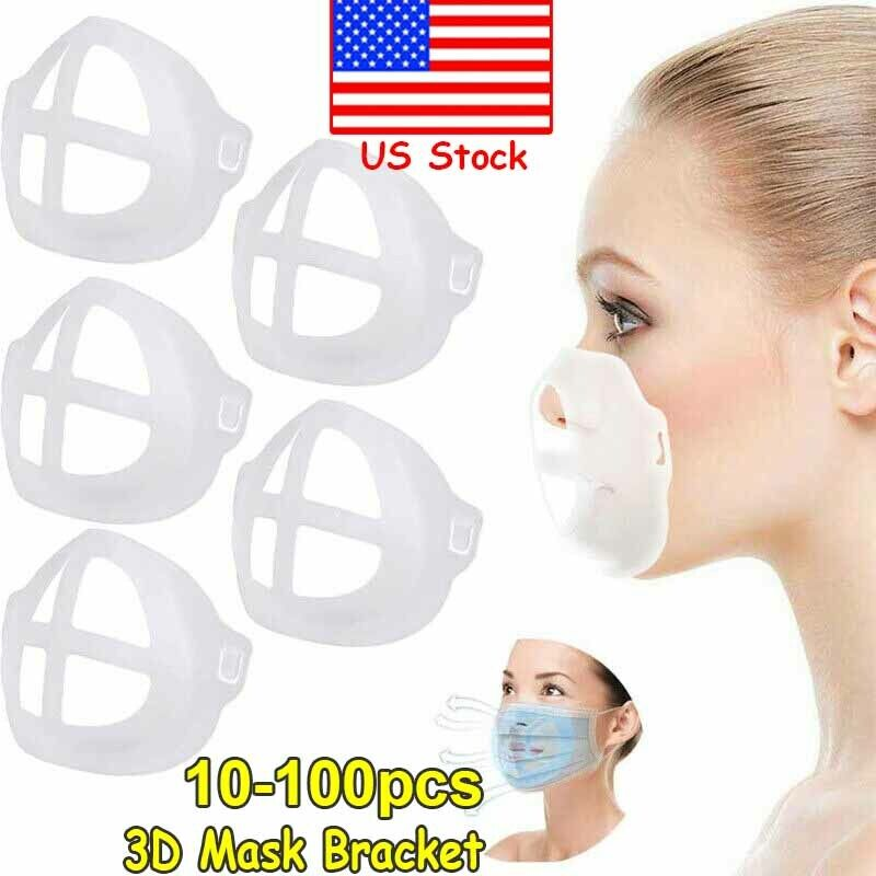 3D Bracket Silicone Face Shield Inner Support Frame Create More Breathing Space