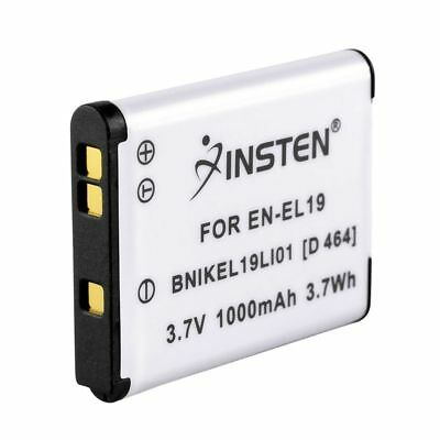 Replacement Battery EN-EL19 for Nikon Coolpix S2500 S3100 S4100 S3300 S4300
