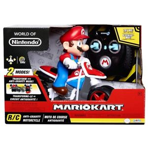 World of Nintendo Mariokart 8 RC Motorcycle - NEW