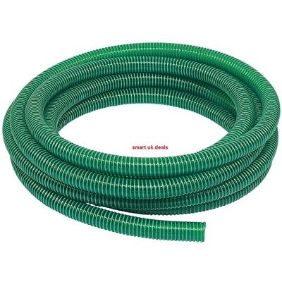Light Suction PVC Delivery Hose 51mm x 10m Garden Water Plants Hose Hand Tools