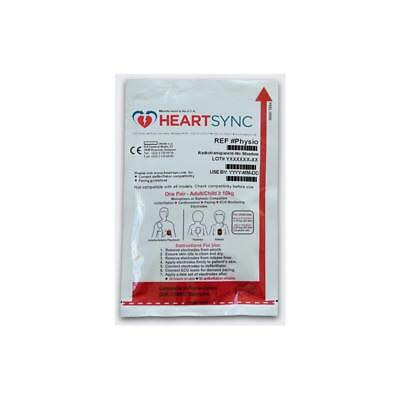 Lifepak Adult Electrodes - New Heartsync Replacement Pads - For Lp12 Lp500 More
