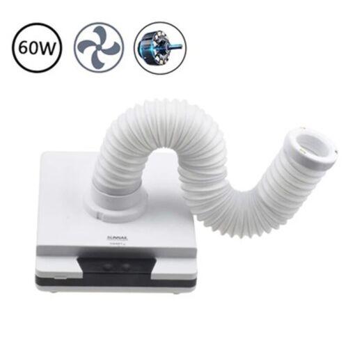 Portable Dental Lab Desktop Vacuum Cleaner Dust Collector with LED Light 110V