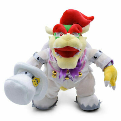 Super Mario Bros Odyssey King Bowser Plush Doll Figure Toy Wedding Costume 14