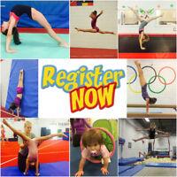 Gymnastics Recreational & Competitive Classes & Gymnastics Camps
