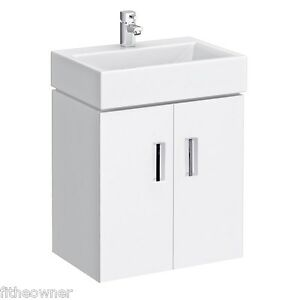Wall Hung Cloakroom Basin Unit : Home, Furniture & DIY > Bath > Sinks