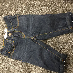 Brand new washed never worn  gap jeans