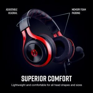 Lucid Sound LS25 E-Sports Universal Gaming Headset brand new