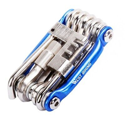 11in1 Multi Function Bicycle Tool Kit Bike Cycling Spanner Wrench Repair