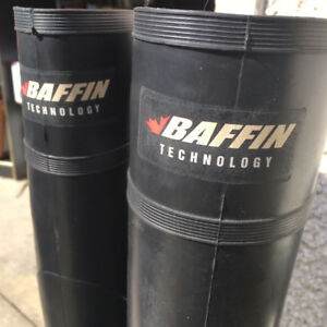 SZ.7 BAFFIN STEEL TOED RUBBER BOOTS