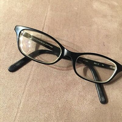 RARE! Oliver Peoples Eye Glasses 50.5-18-140 Marti BK Black Frames Only!