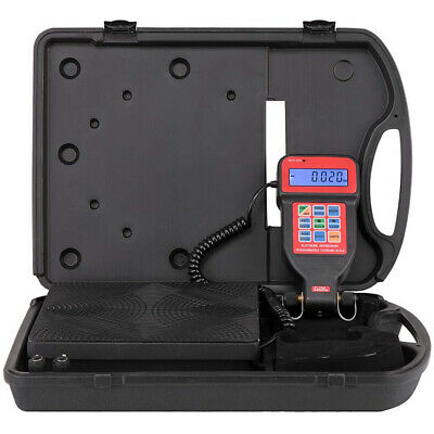 220lbs Electronic Digital Refrigerant Charging Weight Scale W Case For Hvac
