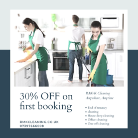 End of tenancy cleaning / House Deep Clean in Reading