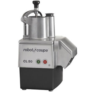 Robot Coupe CL50 Continuous Feed Food Processor - 120V