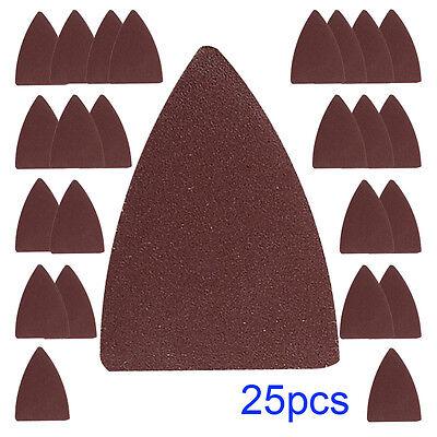 25 Finger Sandpaper Oscillating Multitool For Fein Bosch Multimaster Pad