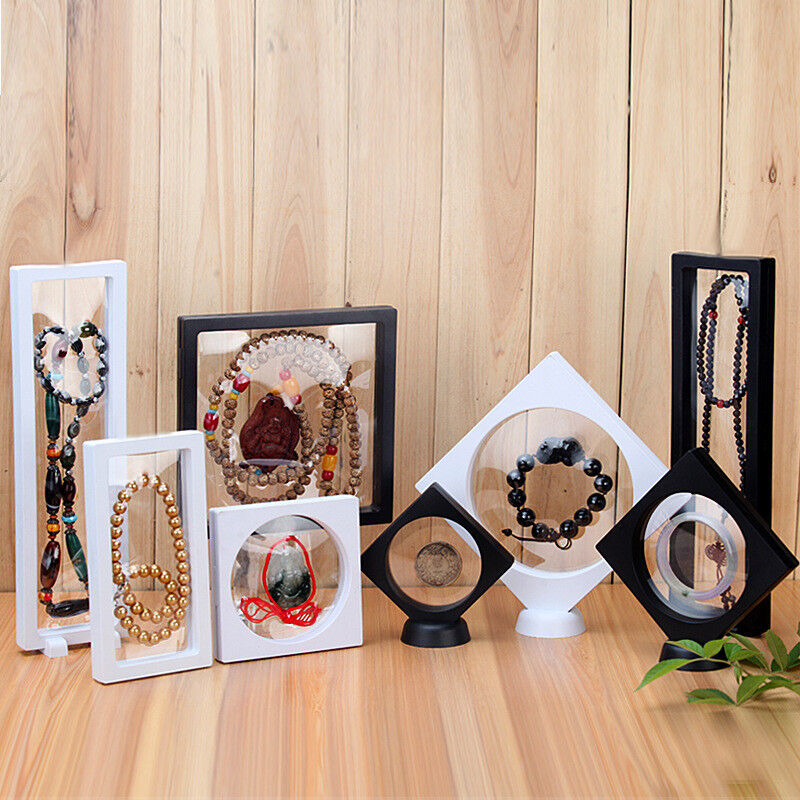 3D Floating Frame Shadow Box Picture Frame Jewellery Display