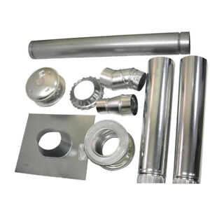 "Wanted 4""  insulated vertical chimney kit"