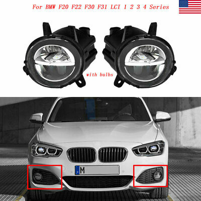 LED Fog Light Lamp Left & Right Side For BMW F20 F22 F30 F32 320i 328i 335i 116i Bmw 328i Fog Light