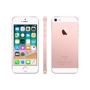 Factory unlock -Iphone SE Rose Gold -10/10 condition