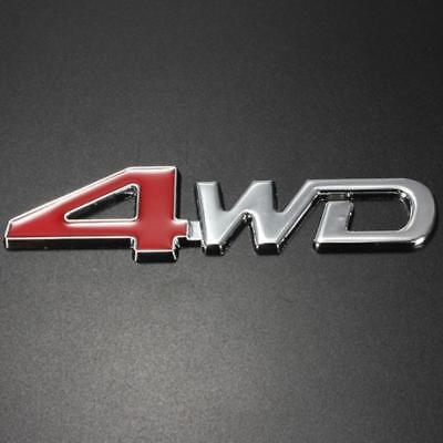 i6, Auto Decal Sticker Badge Emblem Metal Chrome 3D 4wd car 4 wd