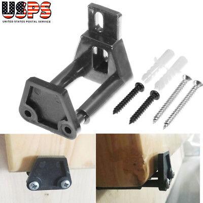 Adjustable Wall Mount Floor Bottom Guide Sliding Barn Door Stay Roller Hardware