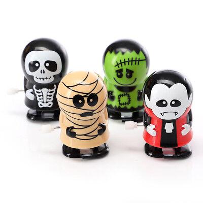 4 Pack Cute Halloween Vampire Mummy Monster Wind-up Walking Toys For Kids Gift (Vampire Toys For Kids)